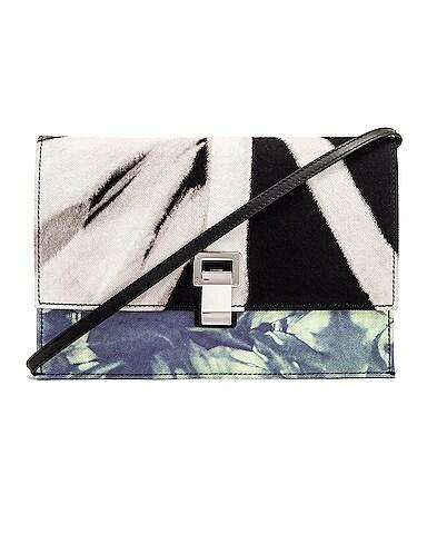 Denim Tie Dye Small Lunch Bag