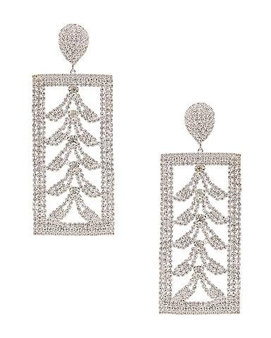 Bone Crystal Earrings
