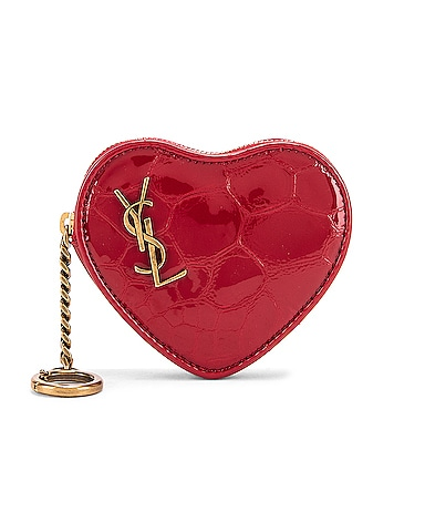 Heart Pouch Key Ring
