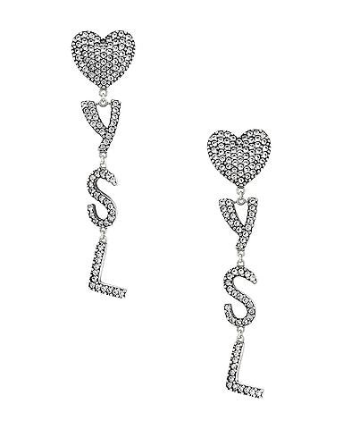 Bo Coeur YSL Earrings