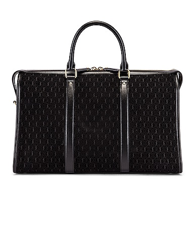 Suede Monogramme Duffel Bag