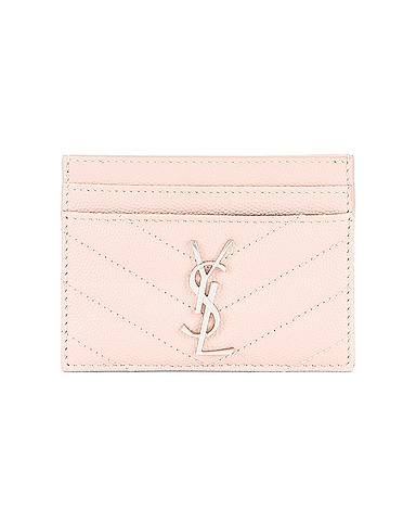Monogramme Credit Card Case