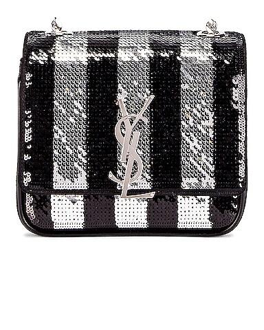 Vicky Monogramme Stripe Bag