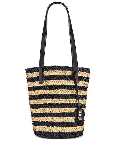 Small Panier Raffia Bag