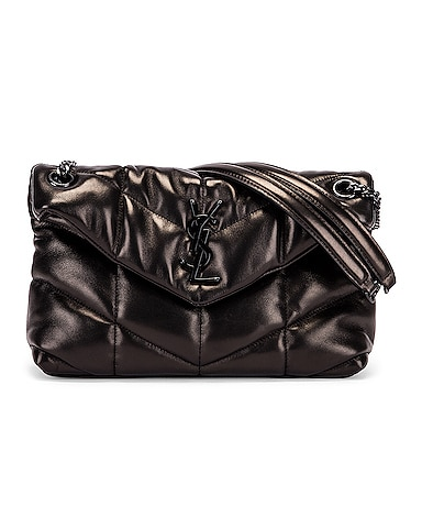 Small Loulou Puffer Chain Bag