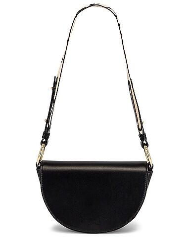 Mini Leather Flap Shoulder Bag