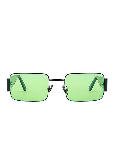 Z Acid Green Sunglasses