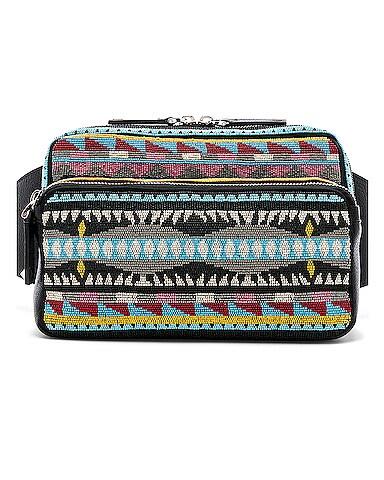 Embroidered Waist Bag