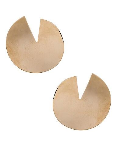 Logo Circle Earrings