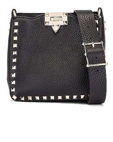 Rockstud Messenger Bag