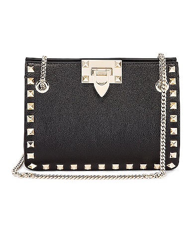 Mini Rockstud Chain Shoulder Bag