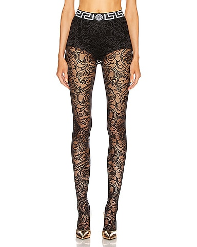 All Over Lace Tights