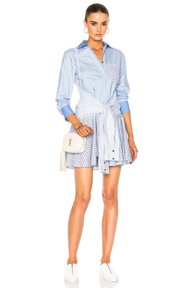 Tie Shirt Dress