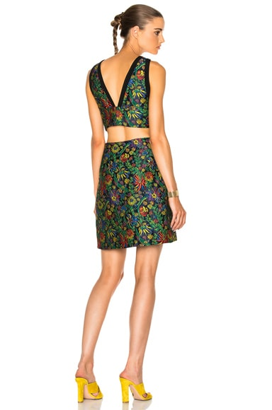 Floral Side Cut Dress