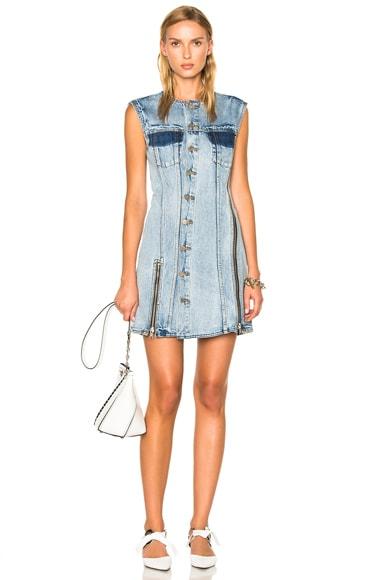 Sleeveless Asymmetrical Dress