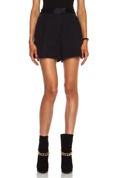Wool Gabardine Bermuda Short
