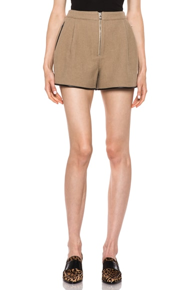Bloomer Wool-Blend Short