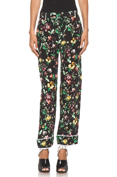 Faded Botanical Pajama Pant