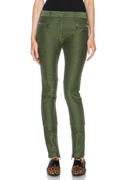 Skinny Cargo Cotton Pant