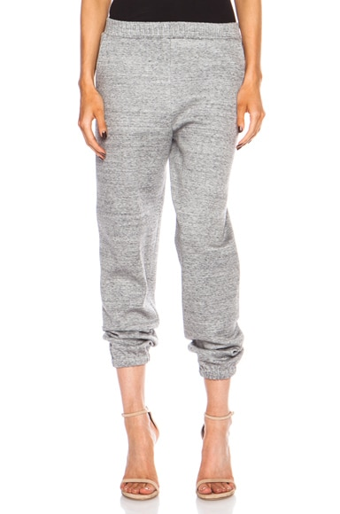 Cotton-Blend Sweatpant
