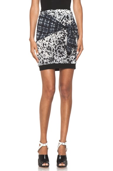 Spotted Pony Print Skirt with Shirt Print