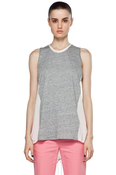 Sleeveless Tank w/ Kite Wings Back