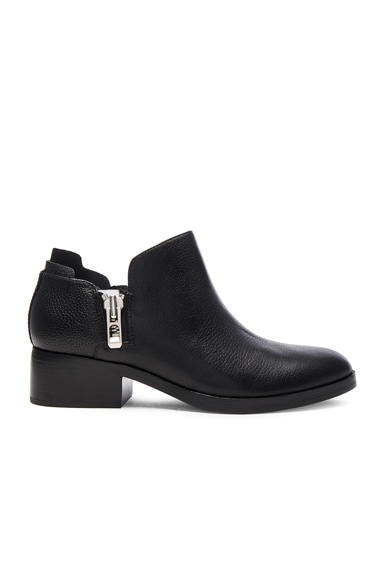 Leather Alexa Ankle Booties