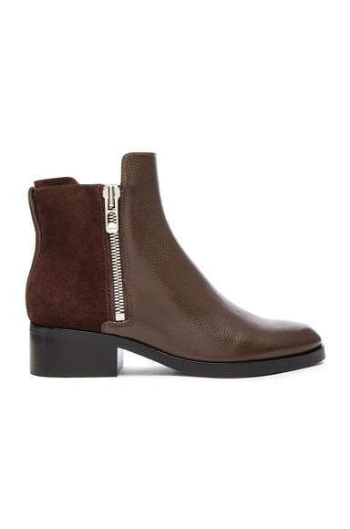 Leather Alexa Boots