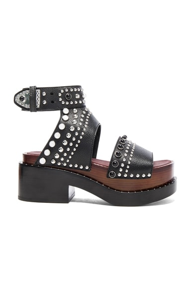 Leather Nashville Open Platforms