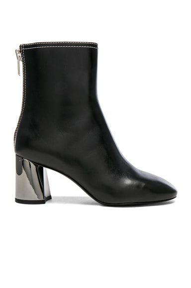 Leather Drum Boots