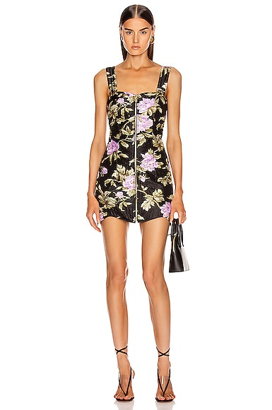 Wild Flowers Mini Dress