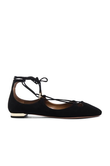 Dancer Suede Flats