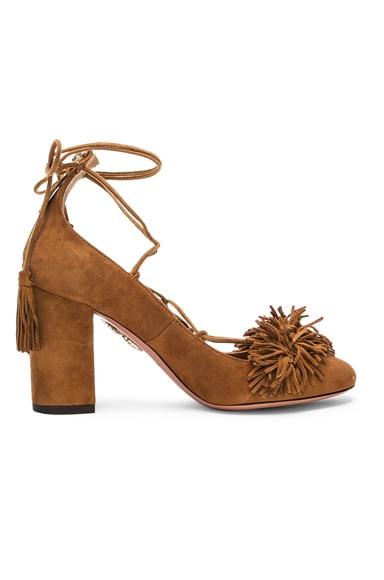 Suede Wild Heels