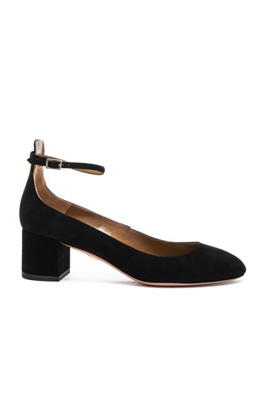 Suede Alix Pumps