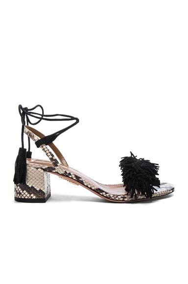 Snakeskin Wild Thing Sandals