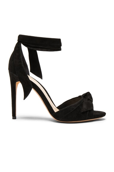 Suede New Clarita Heels in Black