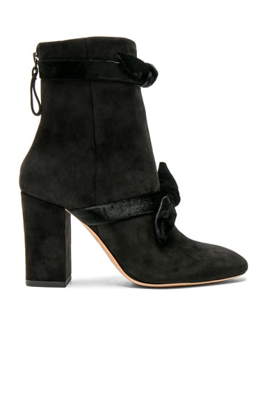 Suede Lorraine Boots
