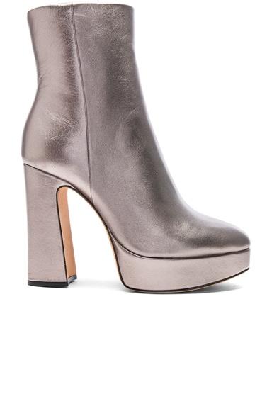 Leather Loreta Platform Boots