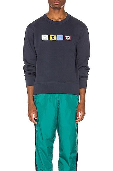 Faircro Animal Face Sweatshirt