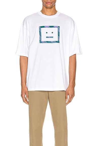 Erian Check Face Tee