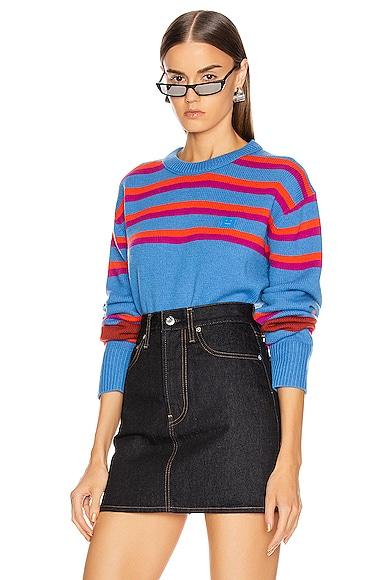 Nimah Stripe Face Sweater