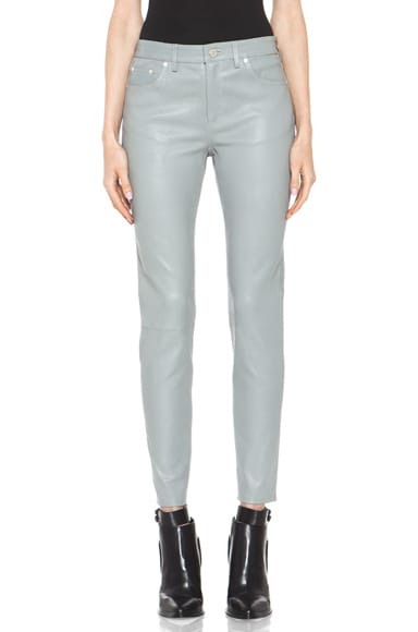 Skin 5 Pocket Leather Pant