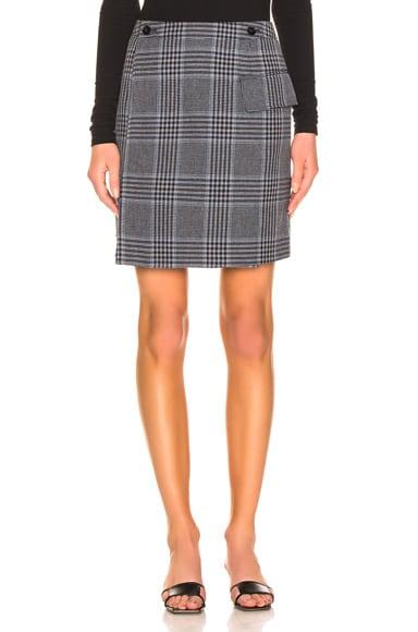 Ivonne Check Skirt