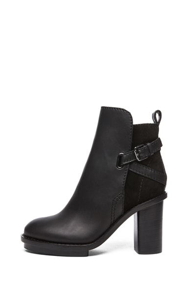 Cypress Leather Booties