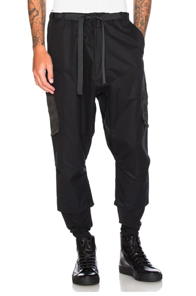 HD Gabardine Drawcord Trousers