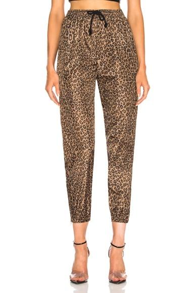 Leopard Track Pant