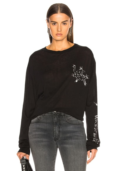 Cashmere Long Sleeve Tee