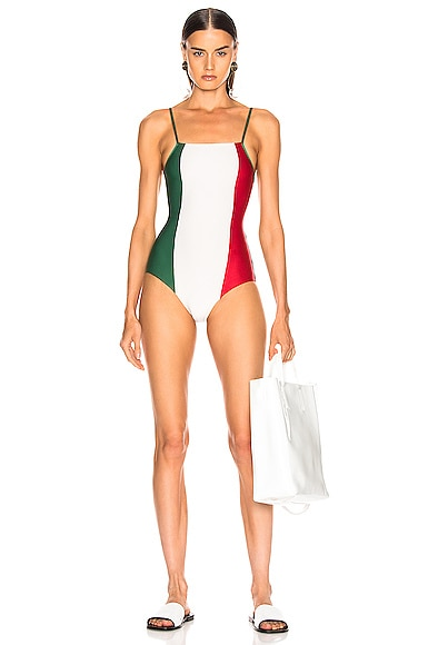 Italy Tricolor Swimsuit