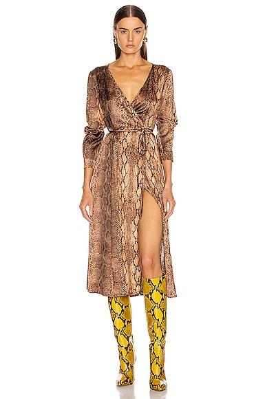 Beverly Wrap Dress