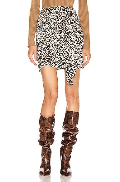 Camilla Wrap Mini Skirt